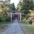 岩木山神社(国家指定重要文物/正殿•拜殿•奥门(正殿的大门)楼门)