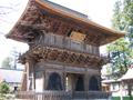 长胜寺三门(重要文化财)